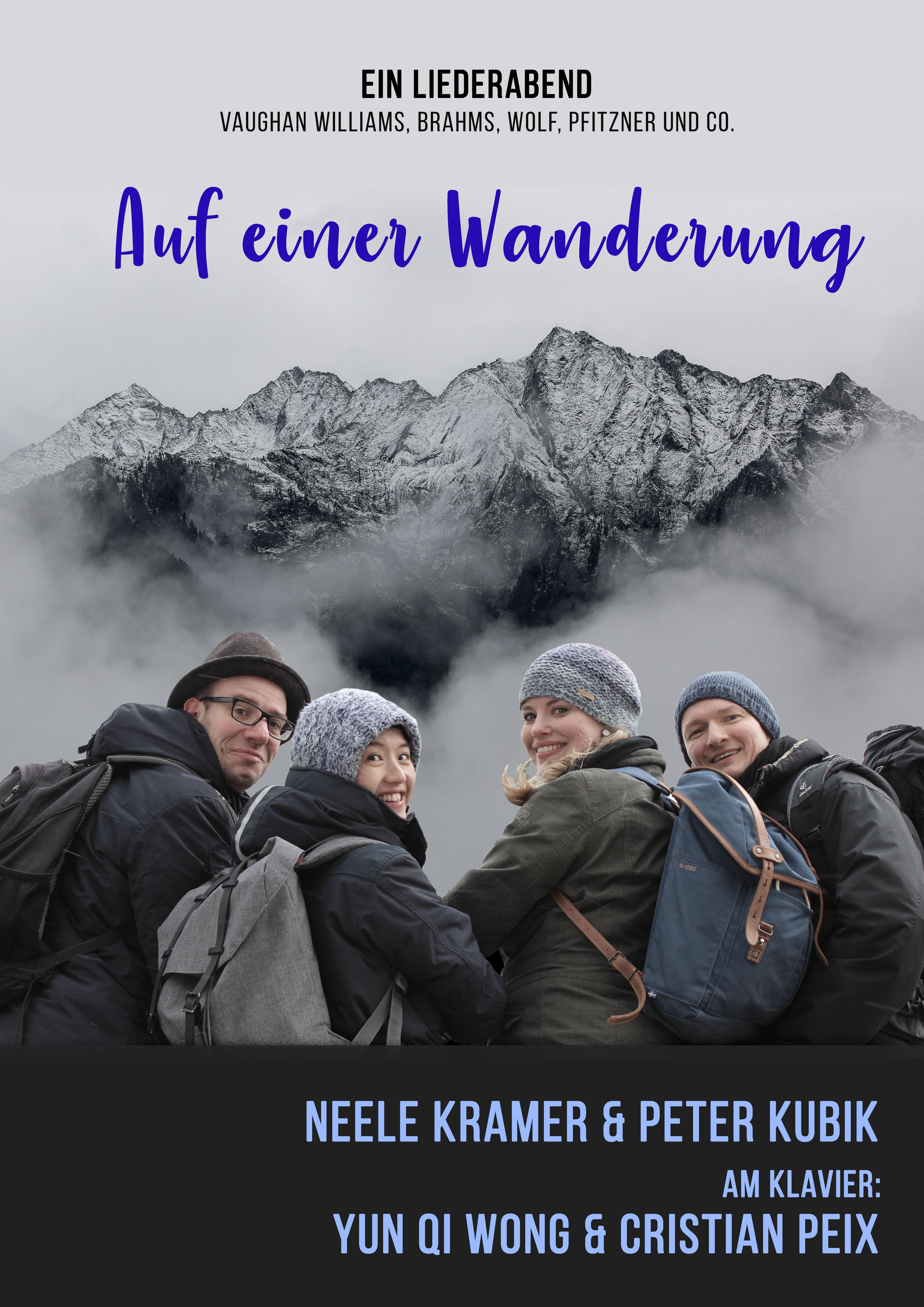 Auf einer Wanderung Flyer